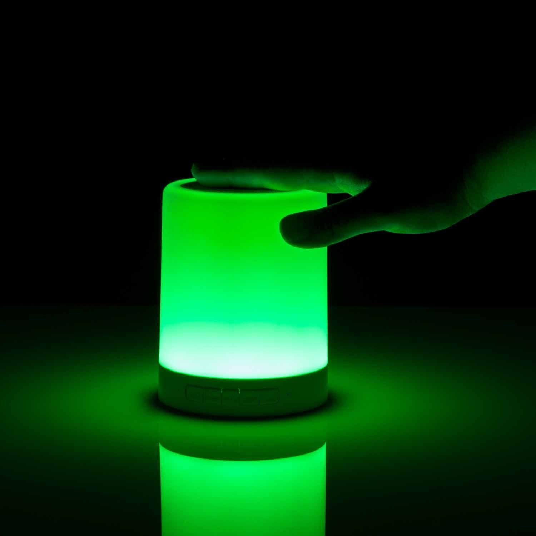 Led Farbwechsel Lampe Mit Bluetooth Lautsprecher Bluetooth Lautsprecher Lautsprecher Und Led