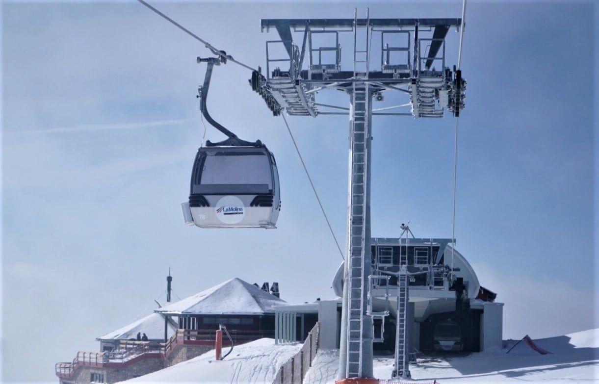 La Molina Recupera Protagonismo Con El Tramo Final Del Telecabina De La Tosa D Alp Toser Estaciones De Esqui Esquiador