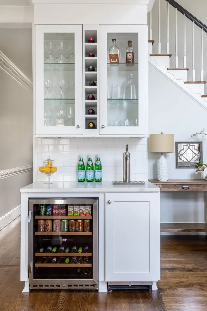 9 Gorgeous Wet Bar Ideas To Elevate Your Home in 9   Home bar ...