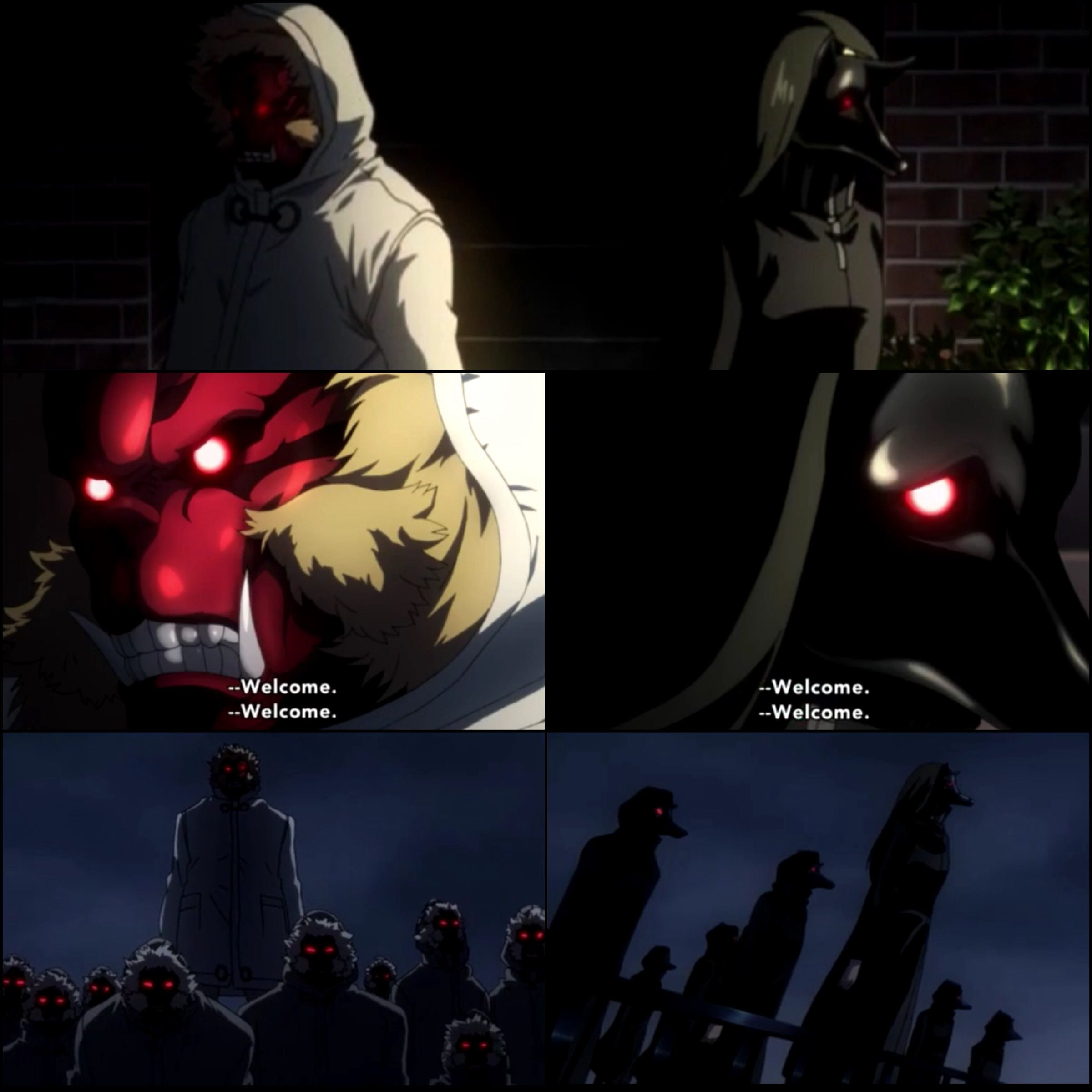 Tokyo Ghoula Ep 9 The Devil Ape The Black Dog En The Black