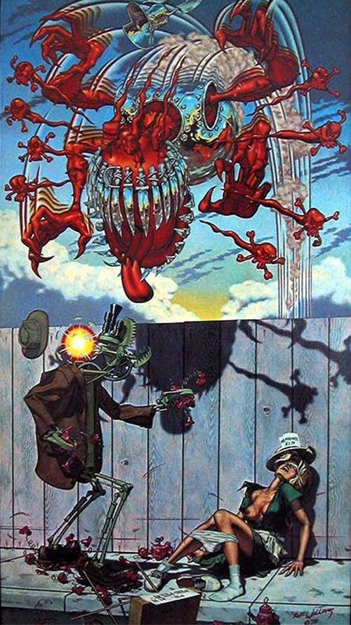 Appetite For Destruction Guns N Roses Original Cover Art By