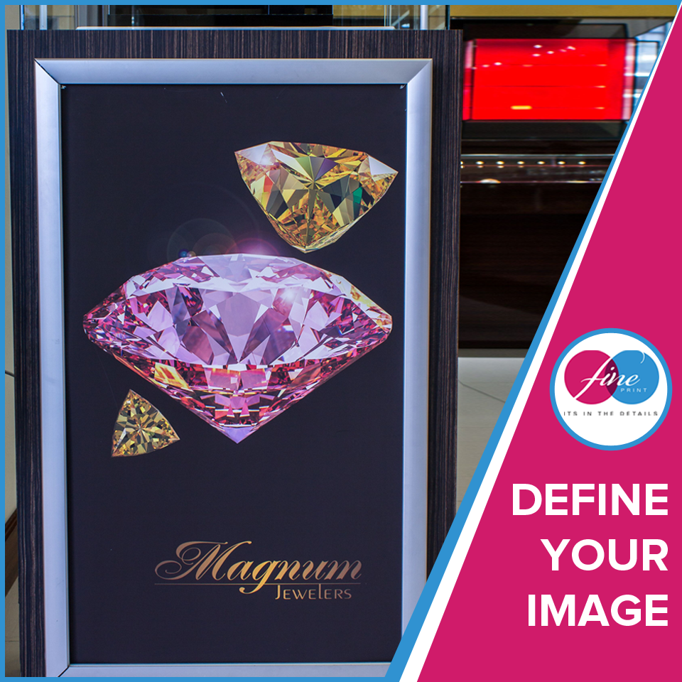 Define your image with FinePrint! #FinePrint #qualityprinting #companyimage #branding #signage