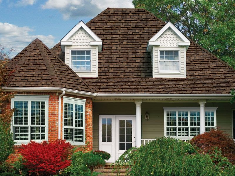 Tri State Windows Siding Roofing Gaf Camelot Aged Oak With Images Roofing Residential Roofing Shingling