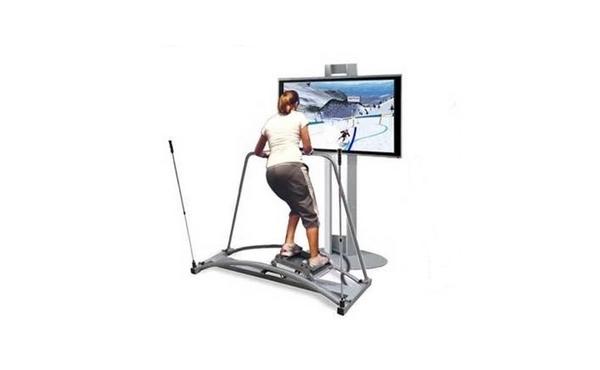 Pro Ski Fit 360 Virtual Simulator Coming In October Skiing Simulation Workout Games