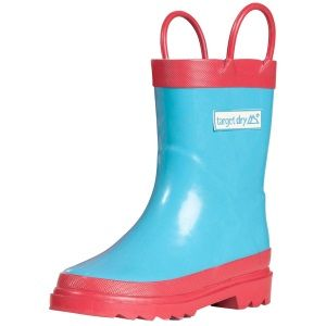 Target Dry Kids Flutterby Wellington Boot The Flutterby Kids Wellington Boot from Target Dry is a bright and pretty pair of Wellington Boots that will keep your kids dry and looking stylish on a rainy day These Wellington Boots are made from  http://www.MightGet.com/january-2017-11/target-dry-kids-flutterby-wellington-boot.asp