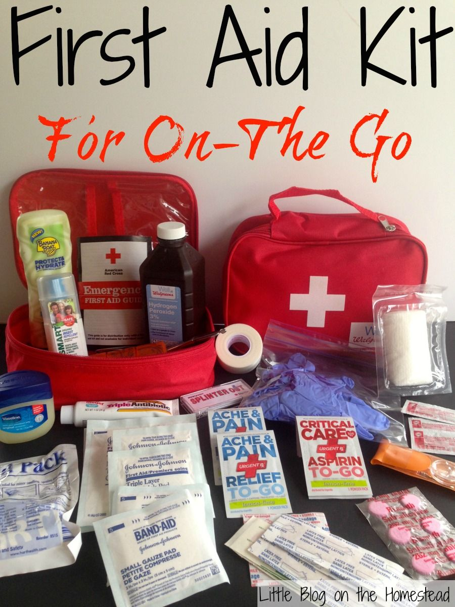 First Aid Kit For On the Go The Ultimate Party Week 46