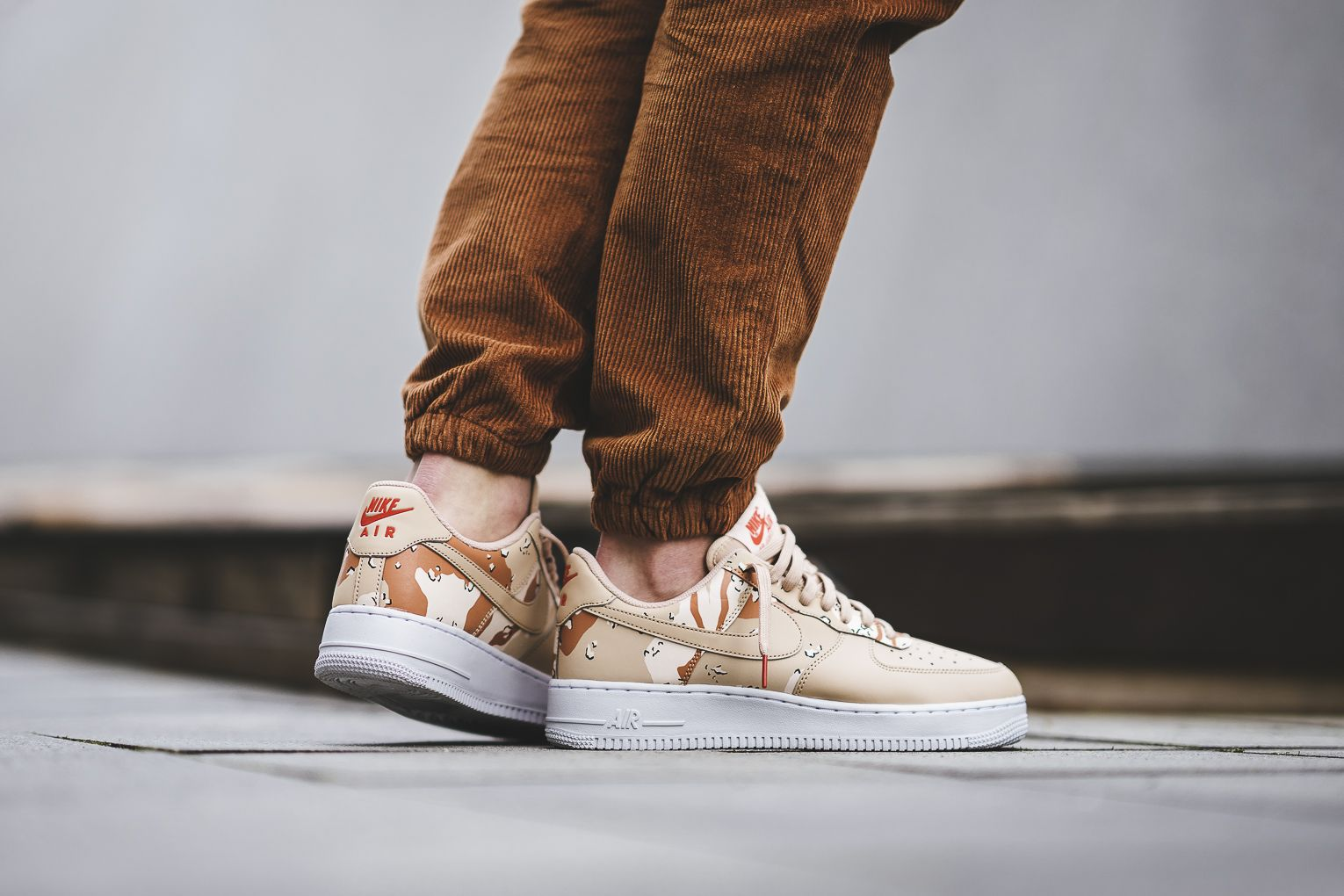 The Nike Air Force 1 Low Country Camo Pack releases on
