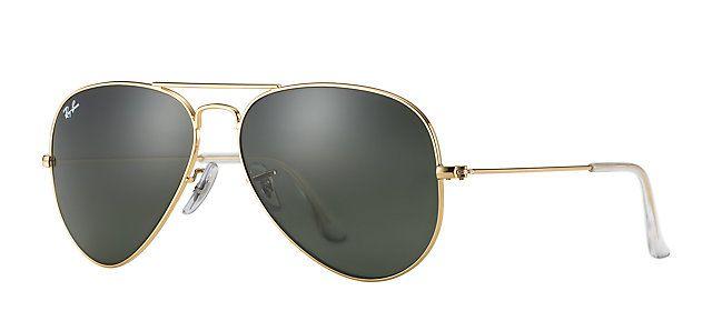 711fba02e52a1 Os Óculos Perfeitos para Cada Tipo de Rosto Mais. Ray-Ban RB3025 L0205 58-14  AVIATOR CLASSIC Gold sunglasses   Official Online Store US