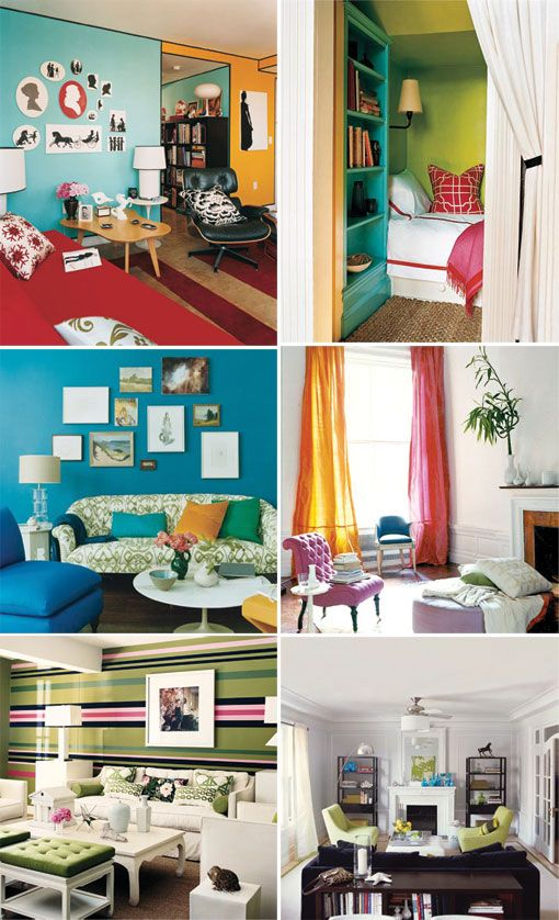 They Aren T Exactly The Color Schemes I Would Pick But Ve Always Liked Idea Of Each Room Having A Diffe Theme Or Accent