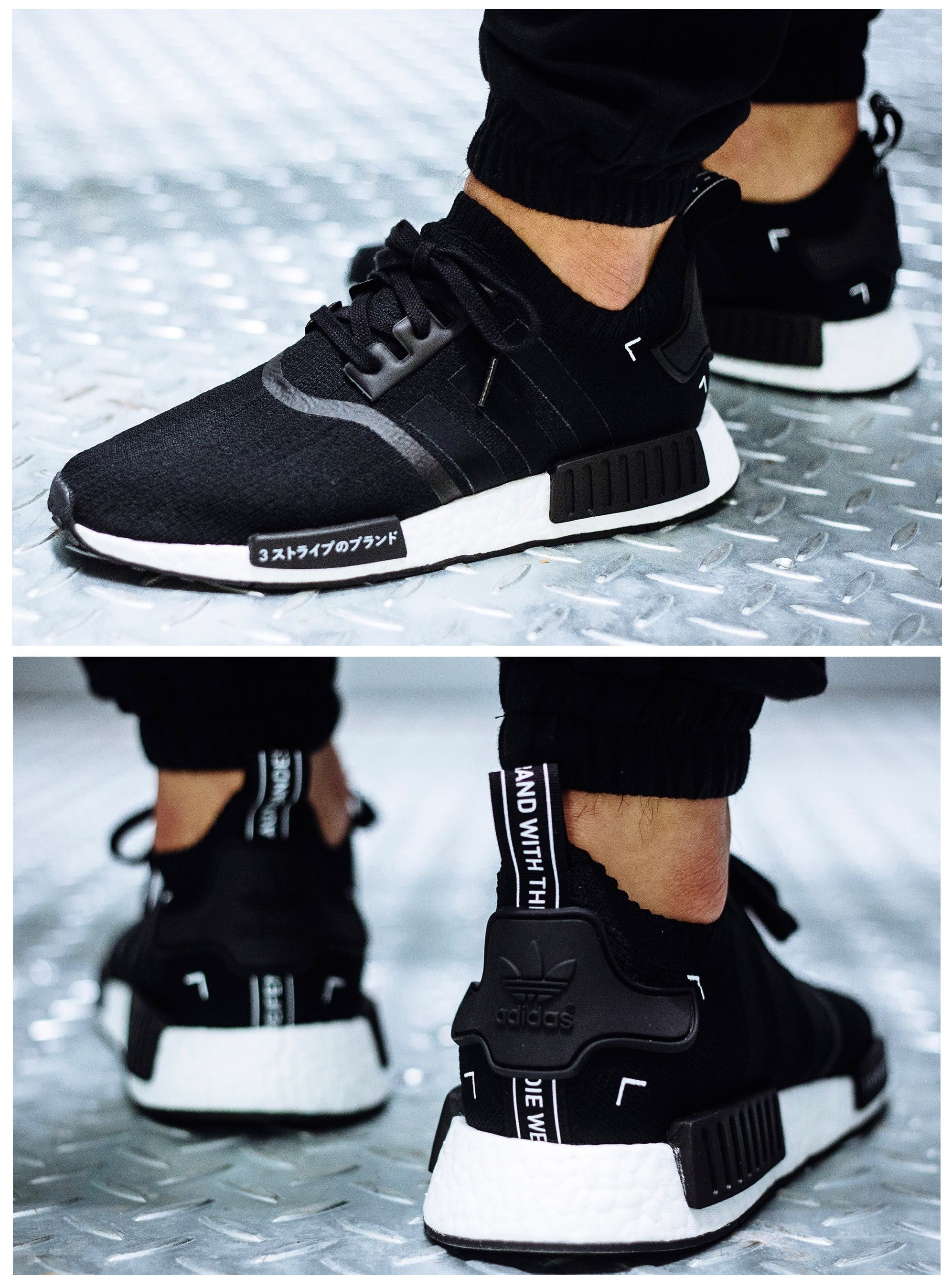 58a3079d43a adidas Originals NMD  Black