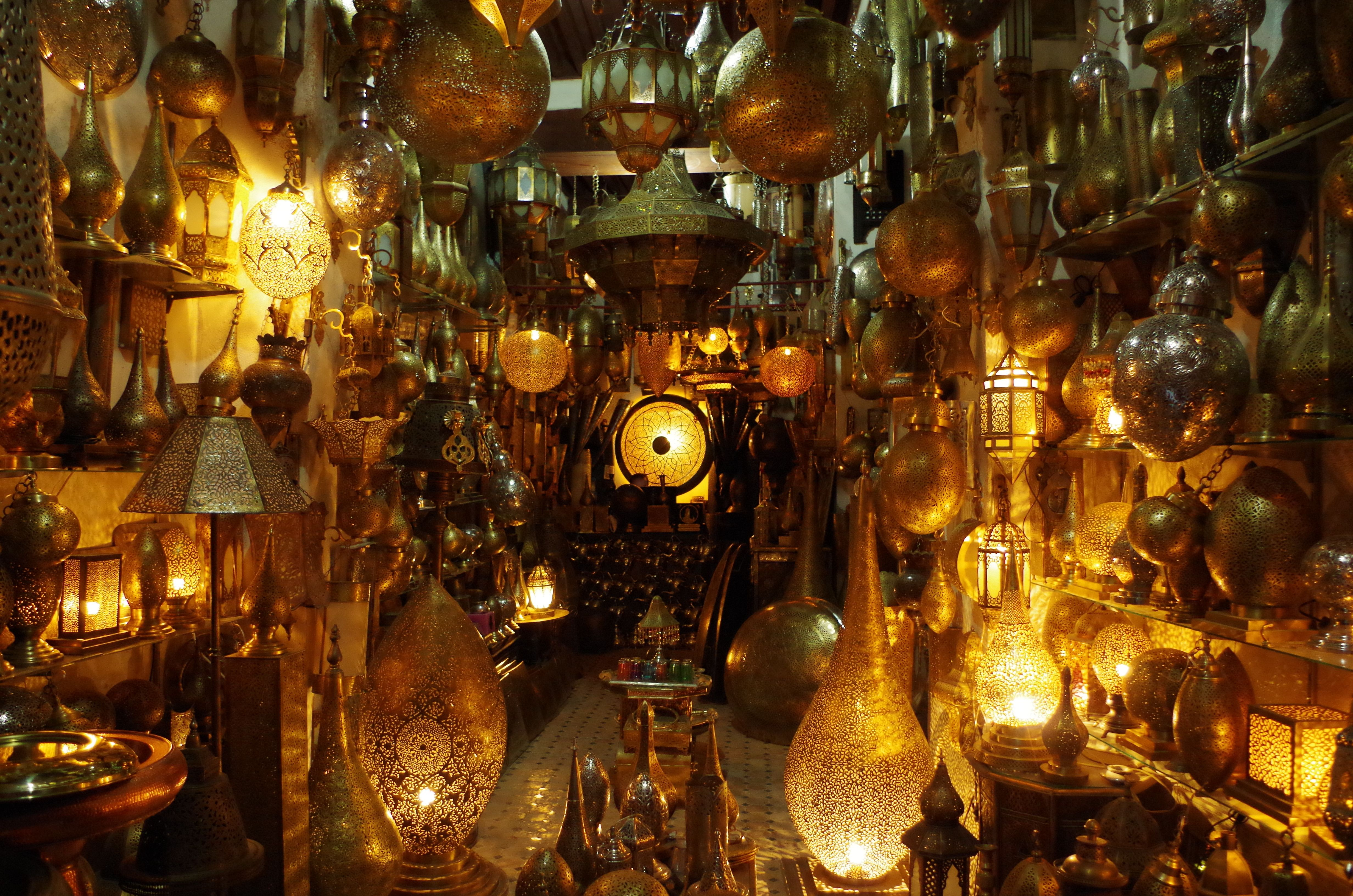 ITAP of a Moroccan Lamp Shop via /r/itookapicture by Veritech-1 ... for Moroccan Lamp Photography  56bof