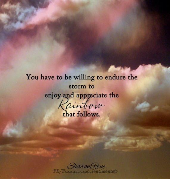 Rainbow Quote Via Wwwfacebookcomtreasuredsentiments Quotes