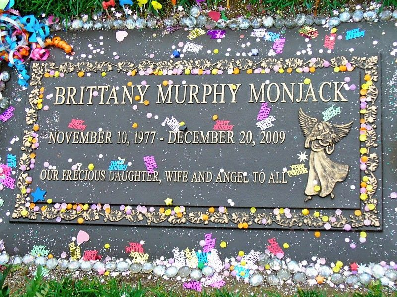 146 best famous gravsites images on pinterest cemetery art celebrity headstones brittany murphy film stage actress best known fandeluxe Choice Image