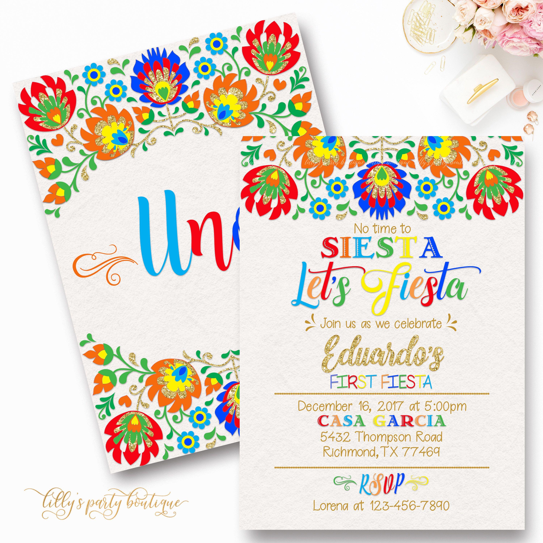 Custom Mexican Fiesta Party Invitation, Cinco de Mayo Invite ...