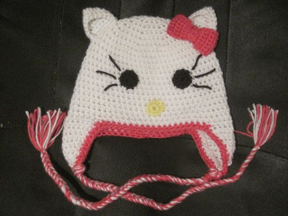 Kitty Cat Hat By Amishheritagedesign On Etsy 22 00 Kitty Cat
