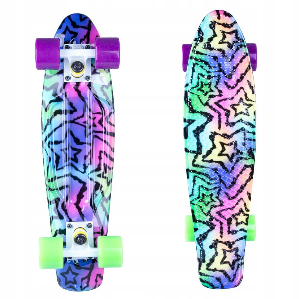Deskorolka Pennyboard Fiszka Dla Dzieci Kolorowa 7864419061 Oficjalne Archiwum Allegro Skateboard Skateboards Clothes Design