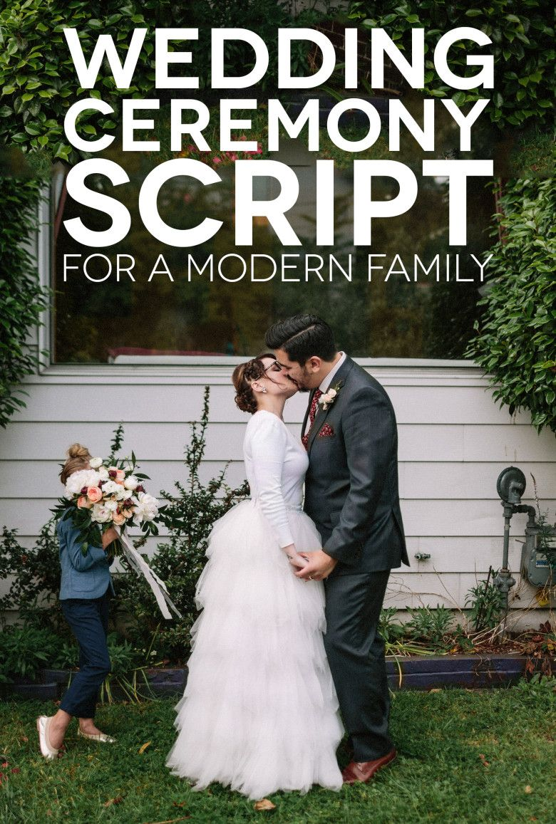A Sample Wedding Ceremony Script For Modern Family