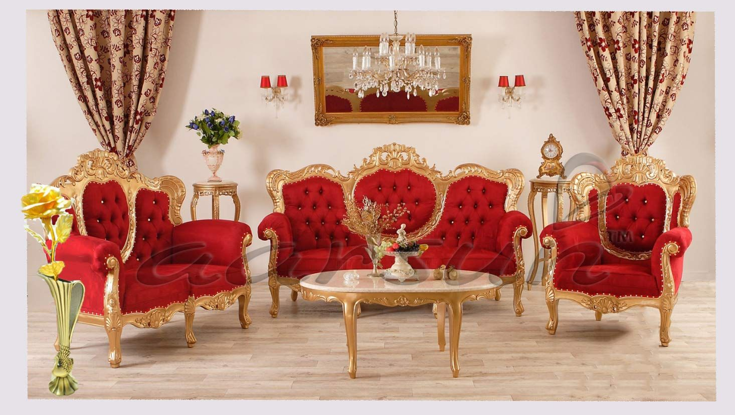Best Wooden Premium Sofa Set With Royal Touch Sf 0021 Living Room Sofa Set Wooden Sofa Set Luxury Furniture Living Room