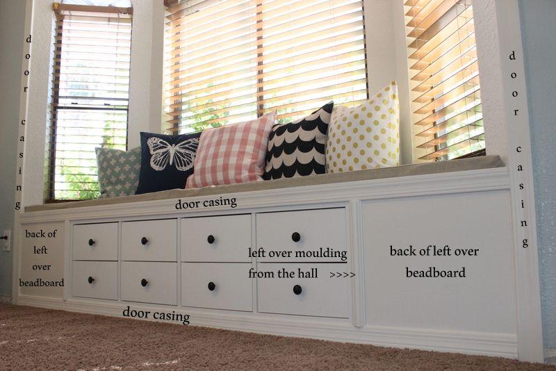 Kallax Shelf Turned Window Bench Window Seat Storage Storage Bench Bedroom Ikea Dining Room