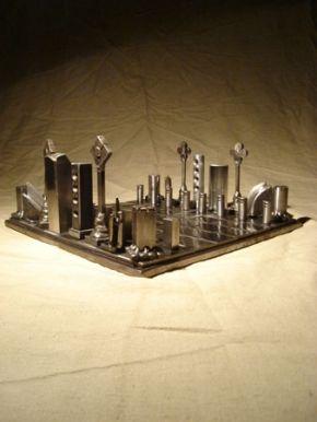 projects ideas metal chess pieces. Chess pieces Rob Reuser Art http www robreuserart ca 227 Metal Set