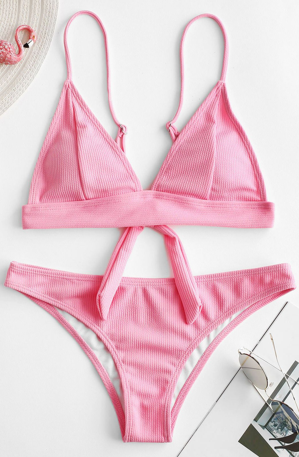 6e55d30766f Style: Sexy Swimwear Type: Bikini Gender: For Women Material:  Polyester,Spandex Bra Style: Padded Support Type: Wire Free Collar-line:  Spaghetti Straps ...