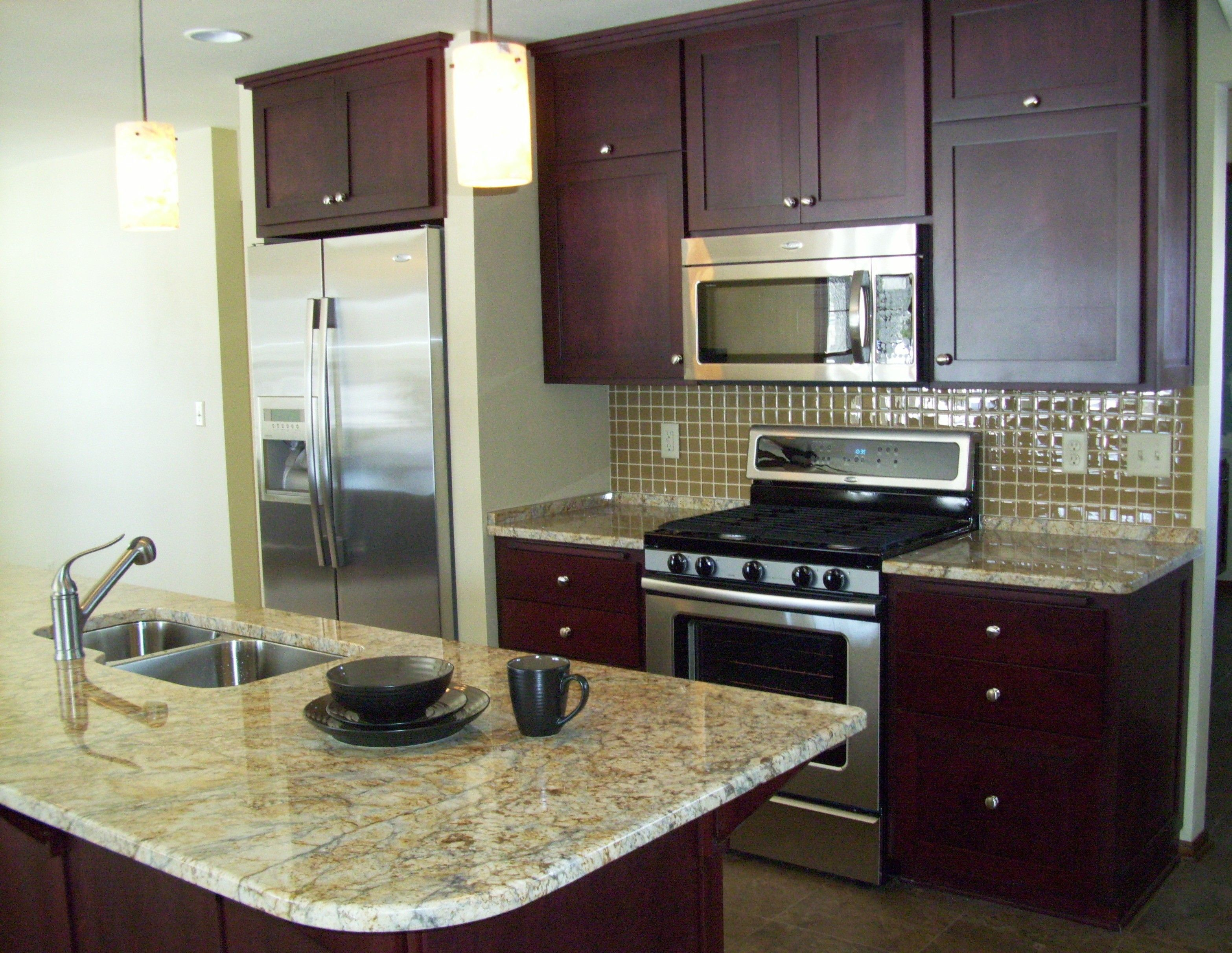 Open Galley Kitchen Design Renovated kitchen custom
