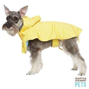 Martha Stewart Pets Gingham Rain Coat Petsmart 6 47 Dog Coats Dog Raincoat Your Dog