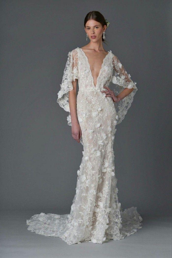 brautkleid aus spitze weiss sommer | NÄHEN | Pinterest | Wedding ...