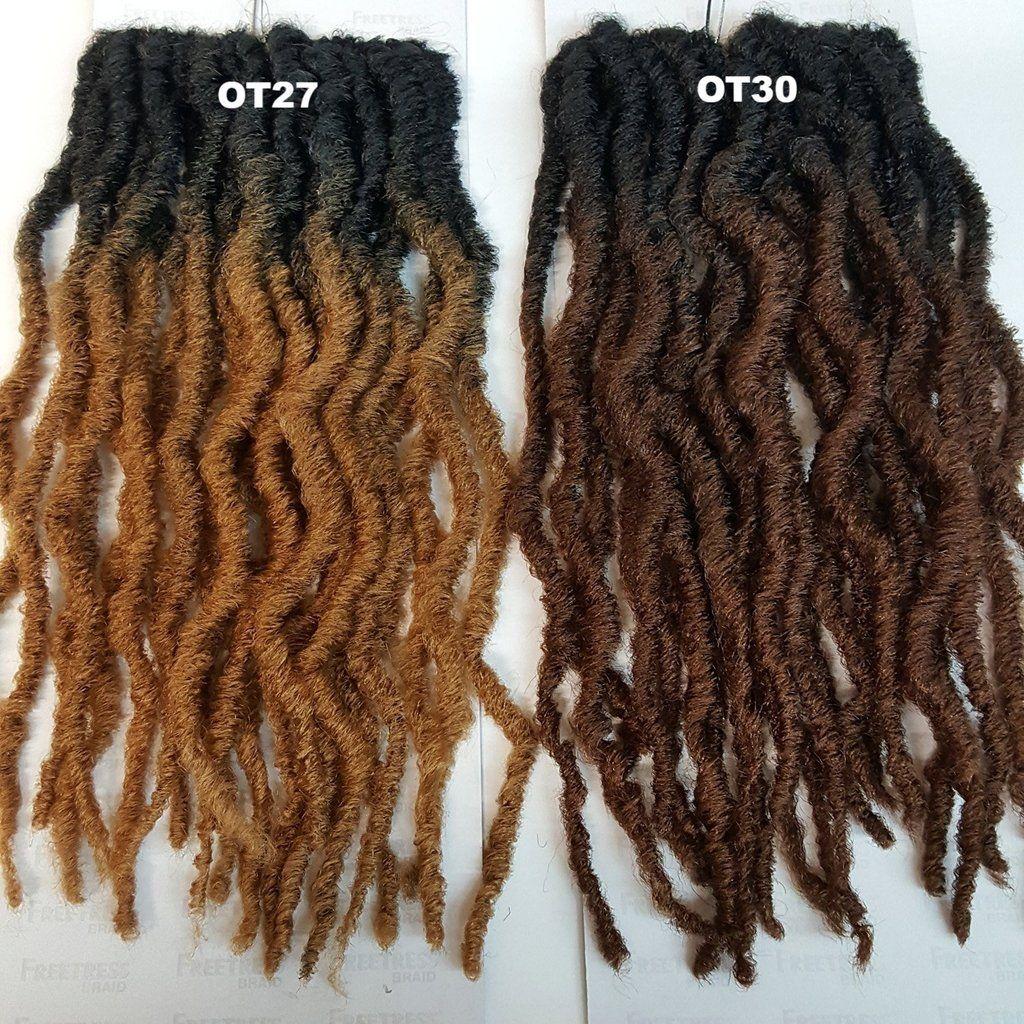 Freetress 2x Crochet Braid Hair Bo Loc 14 Crochet Faux Locs