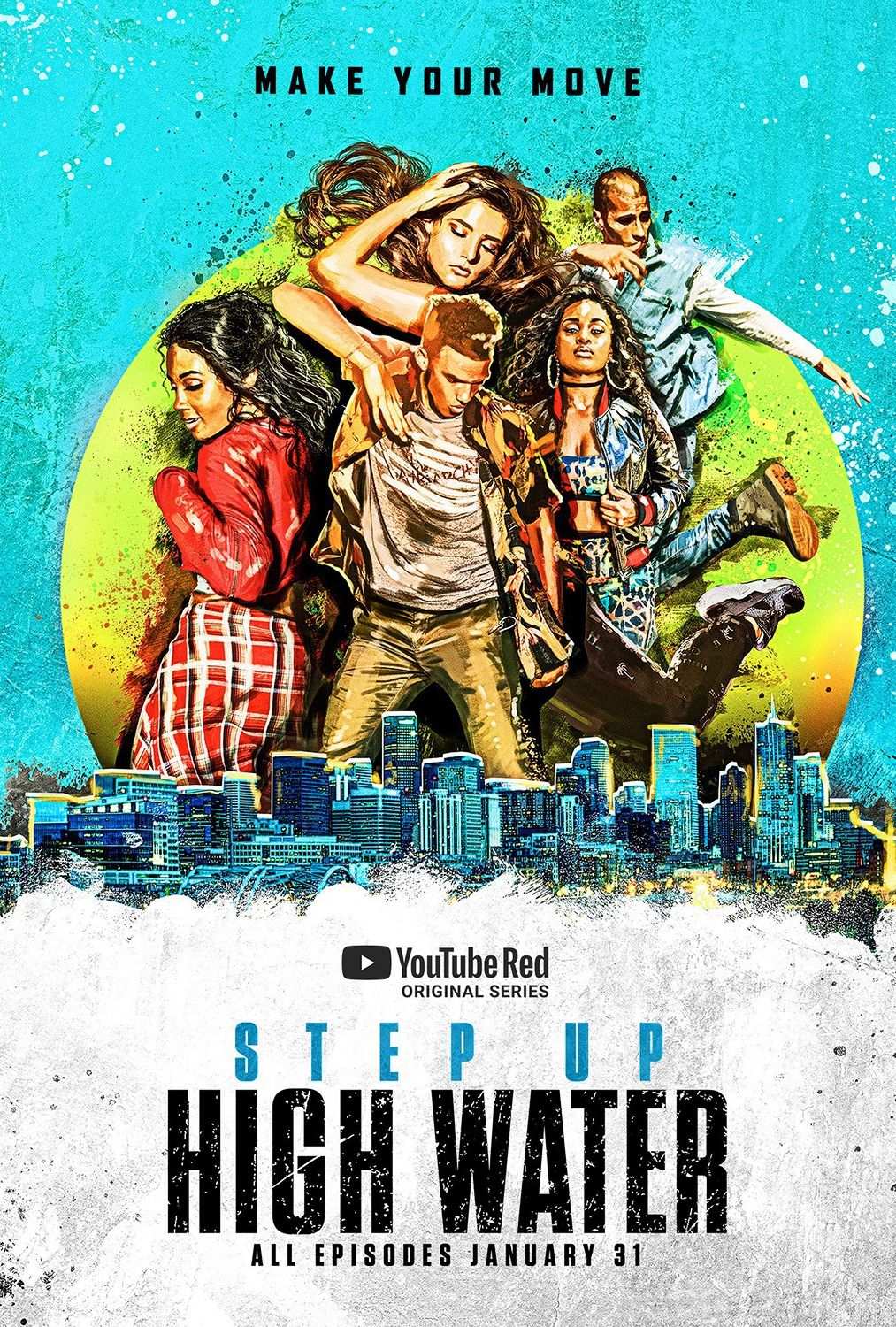 Return to the main poster page for Step Up: High Water