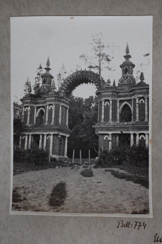 ЦАРИЦИНО. Лист с фотографиями из архива профессора ...