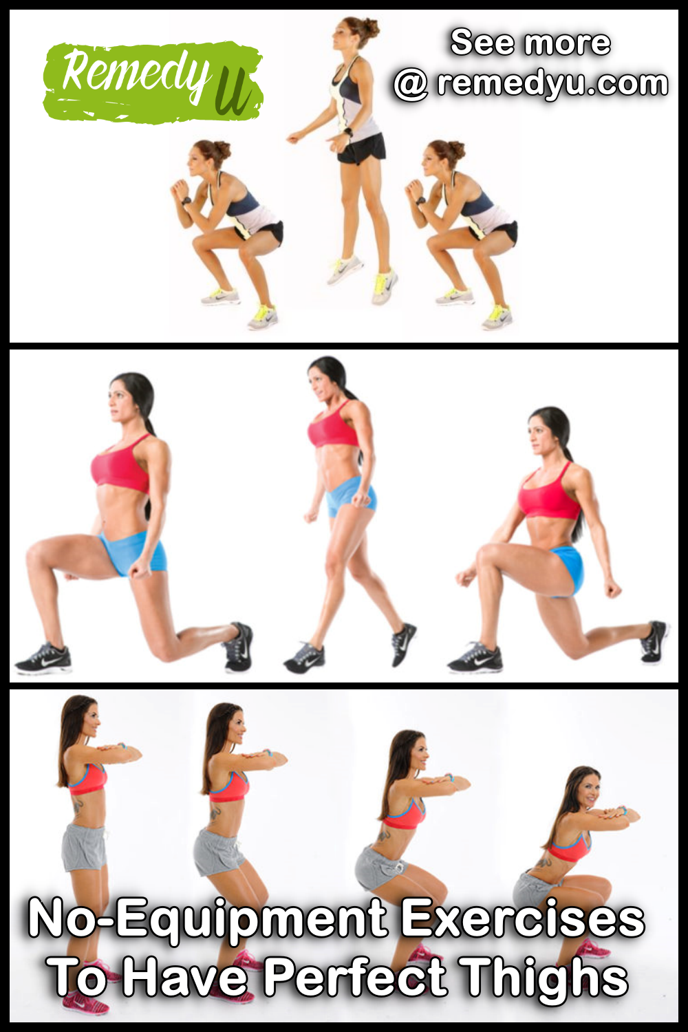 No-Equipment Exercises To Have Perfect Thighs
