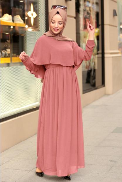 Genc Tesettur Abiye Modelleri Tesettur Elbise Modelleri 2020 Aktif Moda The Dress Elbise Musluman Elbisesi