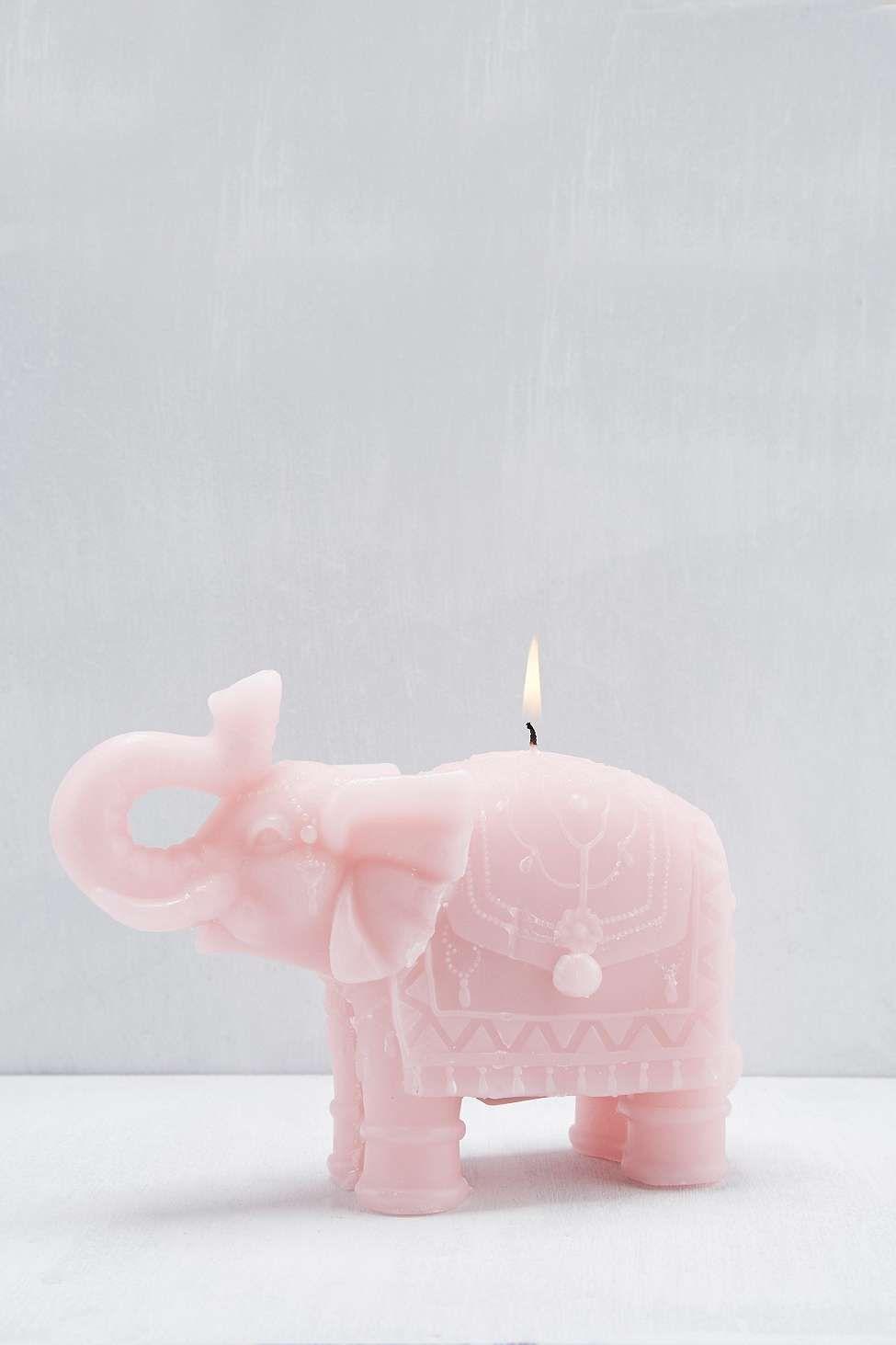 Kerze in Elefantenform