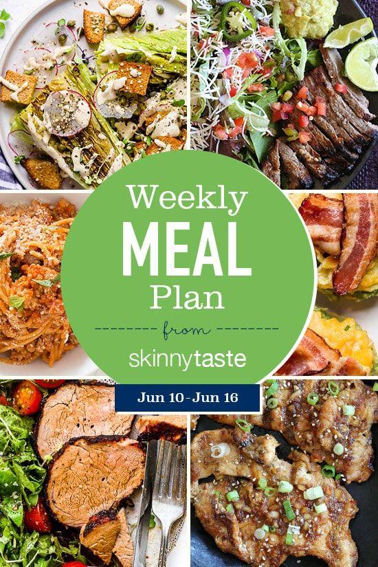Skinnytaste Meal Plan (June 10-June 16) images
