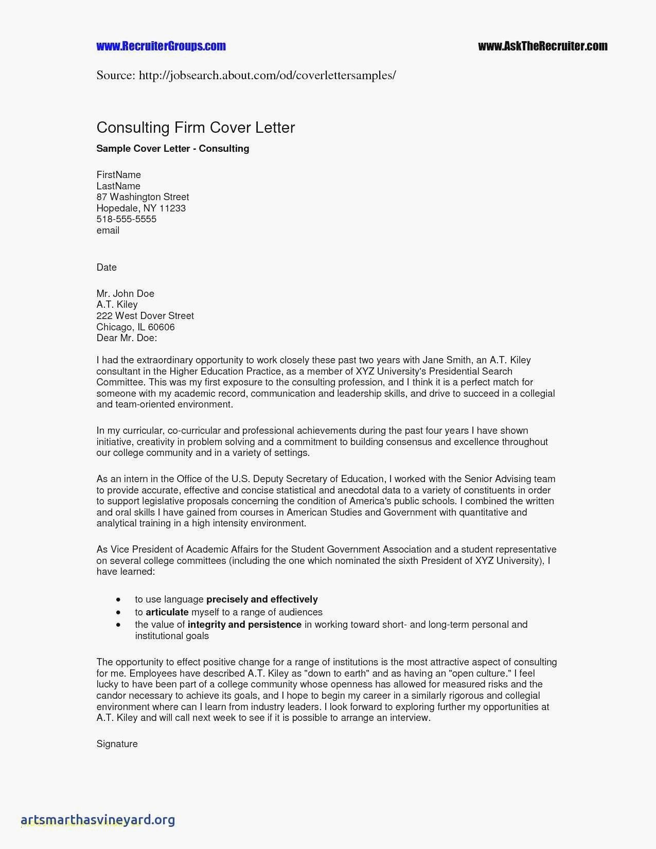 5 Free Sample Cover Letter For Job Application 1