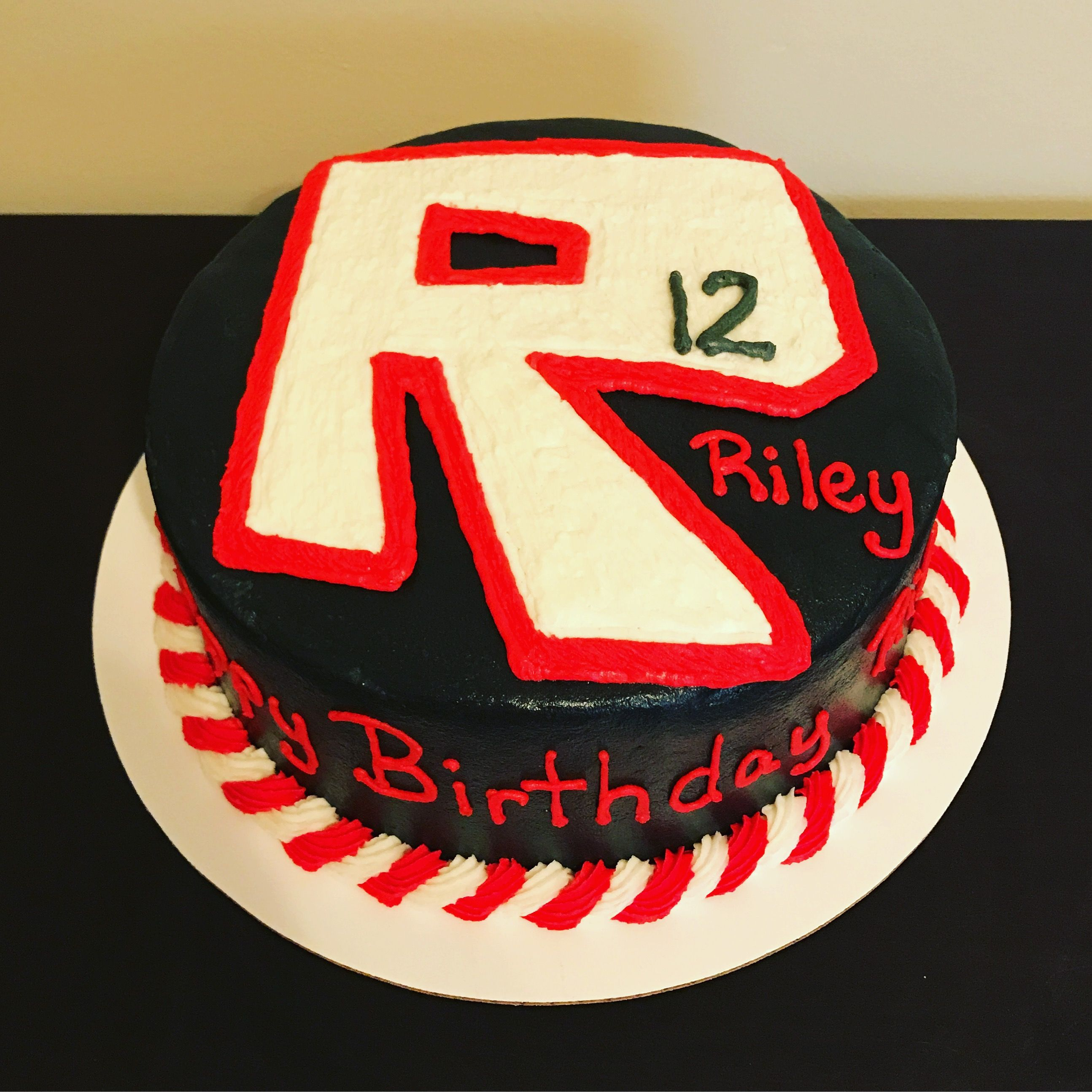 Roblox birthday cake buttercream Abigails Absolute Sweets