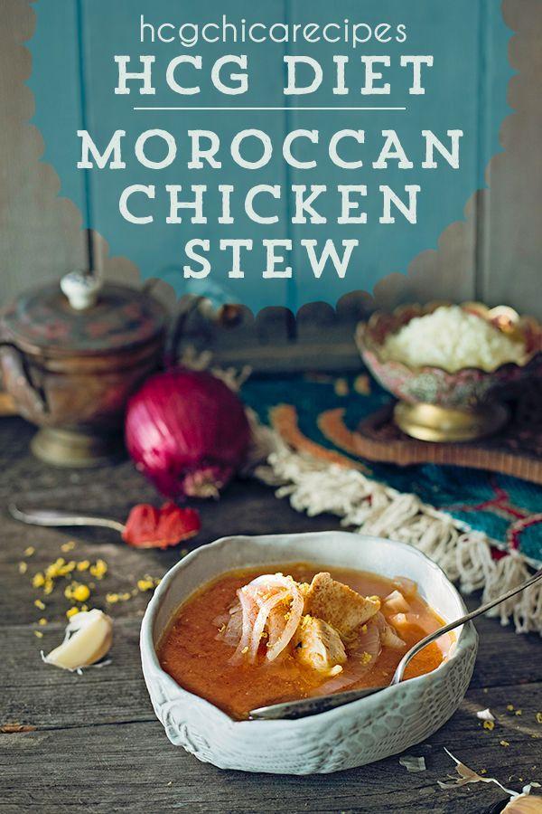 Phase 2 Hcg Diet Recipe Moroccan Chicken Stew W Onions Lsp Sp Ap Recipe In 2020 Hcg