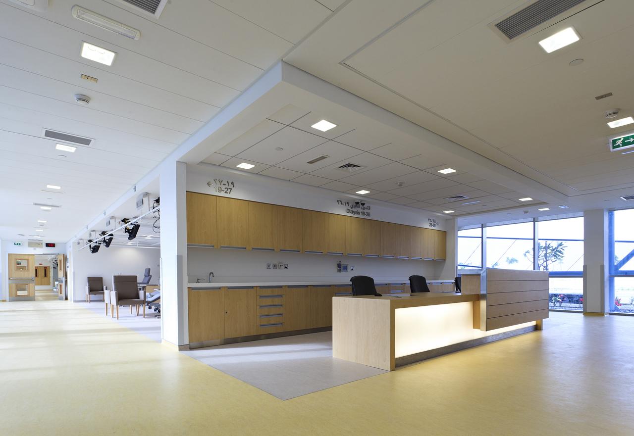 Creative partition ideas courtesy interior architect mohamed amer - Dialysis Center