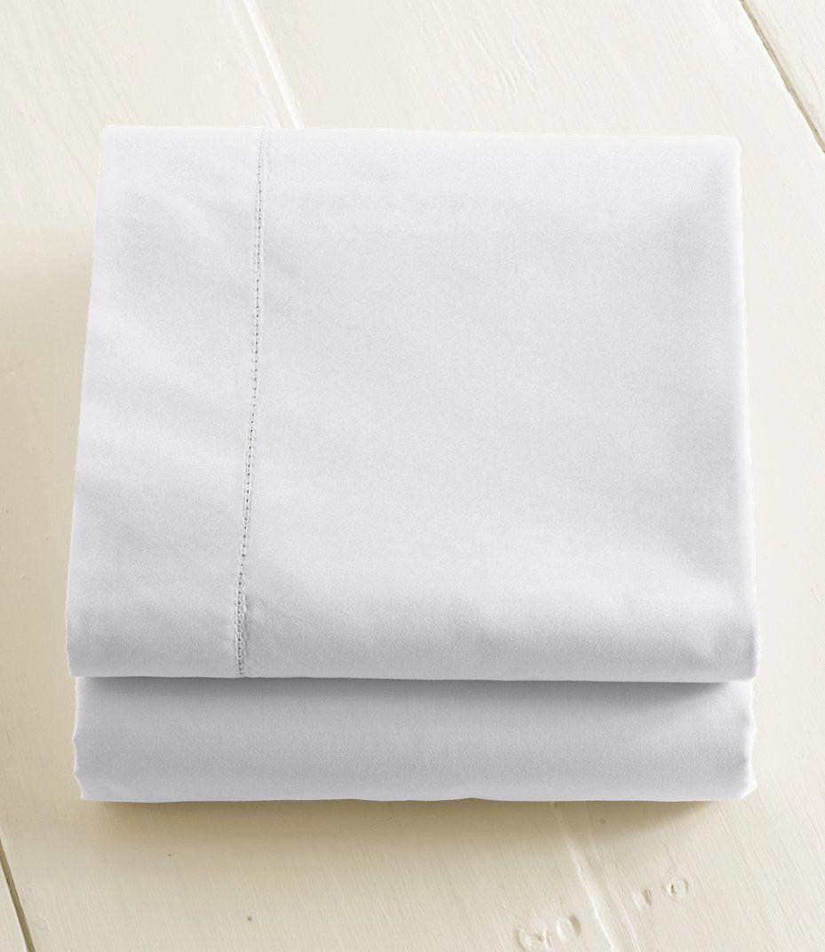 280 Thread Count Pima Cotton Percale Sheet Flat Ll Bean Good