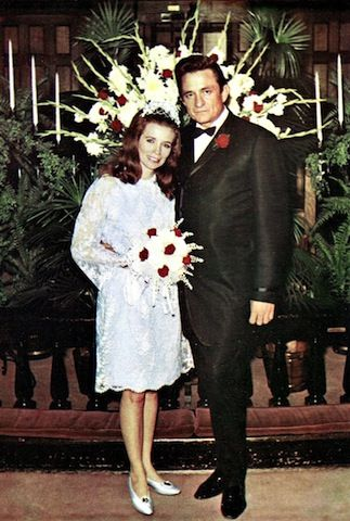 The Wedding Photos Of 25 Musicians In Love Johnny Cash June And