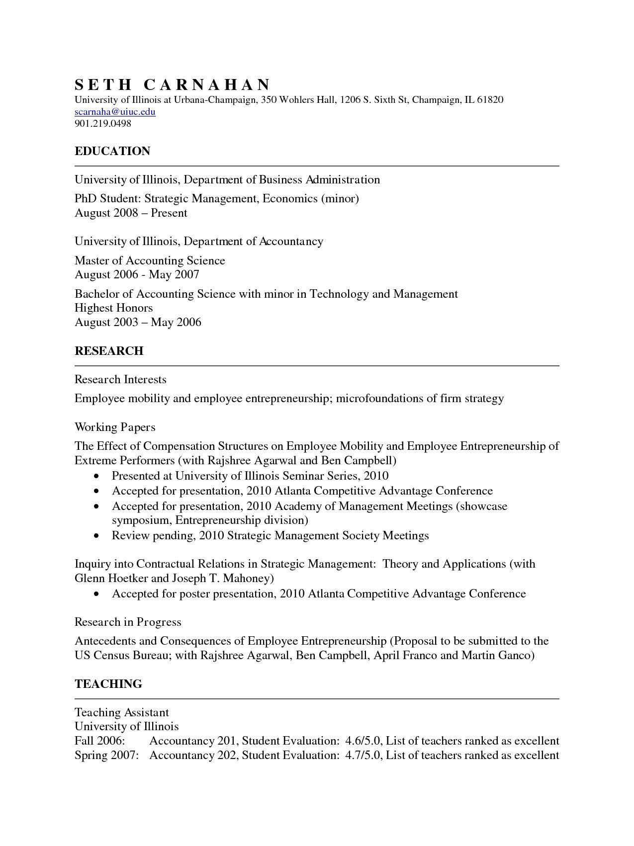 academic cv template word fresh format for australian accounting manager medical office administration resume objective graphic designer sample