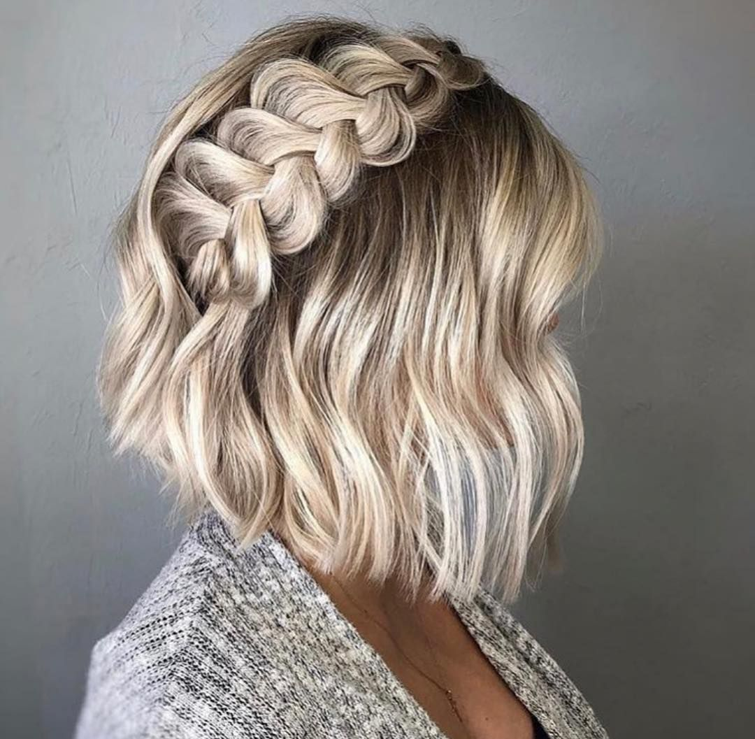 New The 10 Best Easy Hairstyles In The World Easy Hairstyle For Medium Hair For School Quick Morning Hair Styles Braids For Short Hair Medium Hair Styles