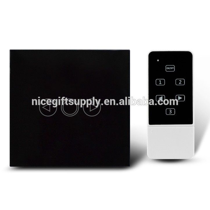EU UK US Smart Home Touch Light Switch Dimmer/dimmable with RF ...