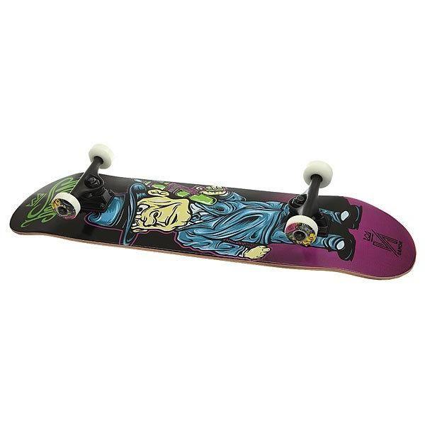 Скейтборд в сборе Nomad Watergun Mob Purple 31.75 x 8 (20.3 см)