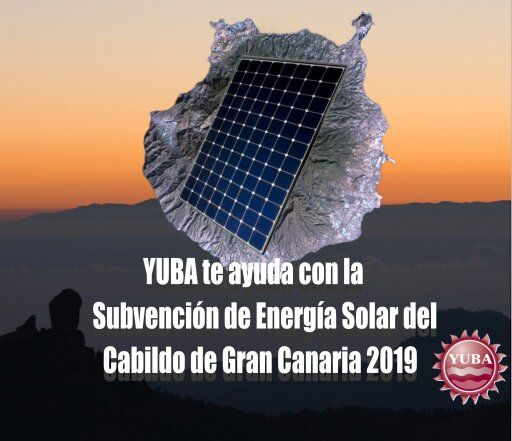 Subvencion fotovoltaica Cabildo