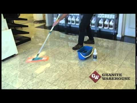 How To Clean Marble Granite Travertine Honed Or Polished Floors