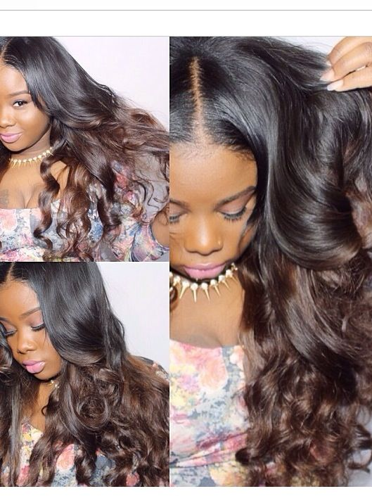 Chocolate Ombre Inspired By Ivy Powell This Will Be My Next Look