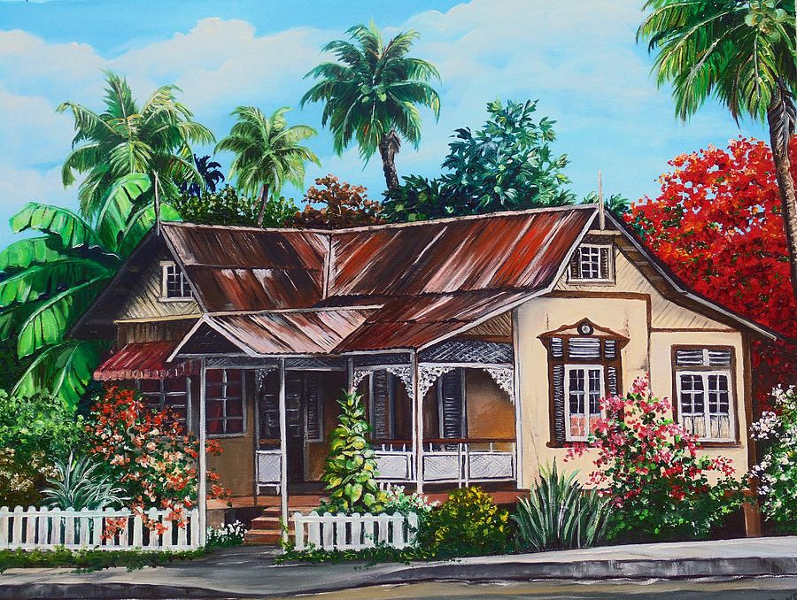 Trinidad house no 1 painting trinidad house no 1 fine art print trinidad house no 1 painting trinidad house no 1 fine art print nostalgia thecheapjerseys Images