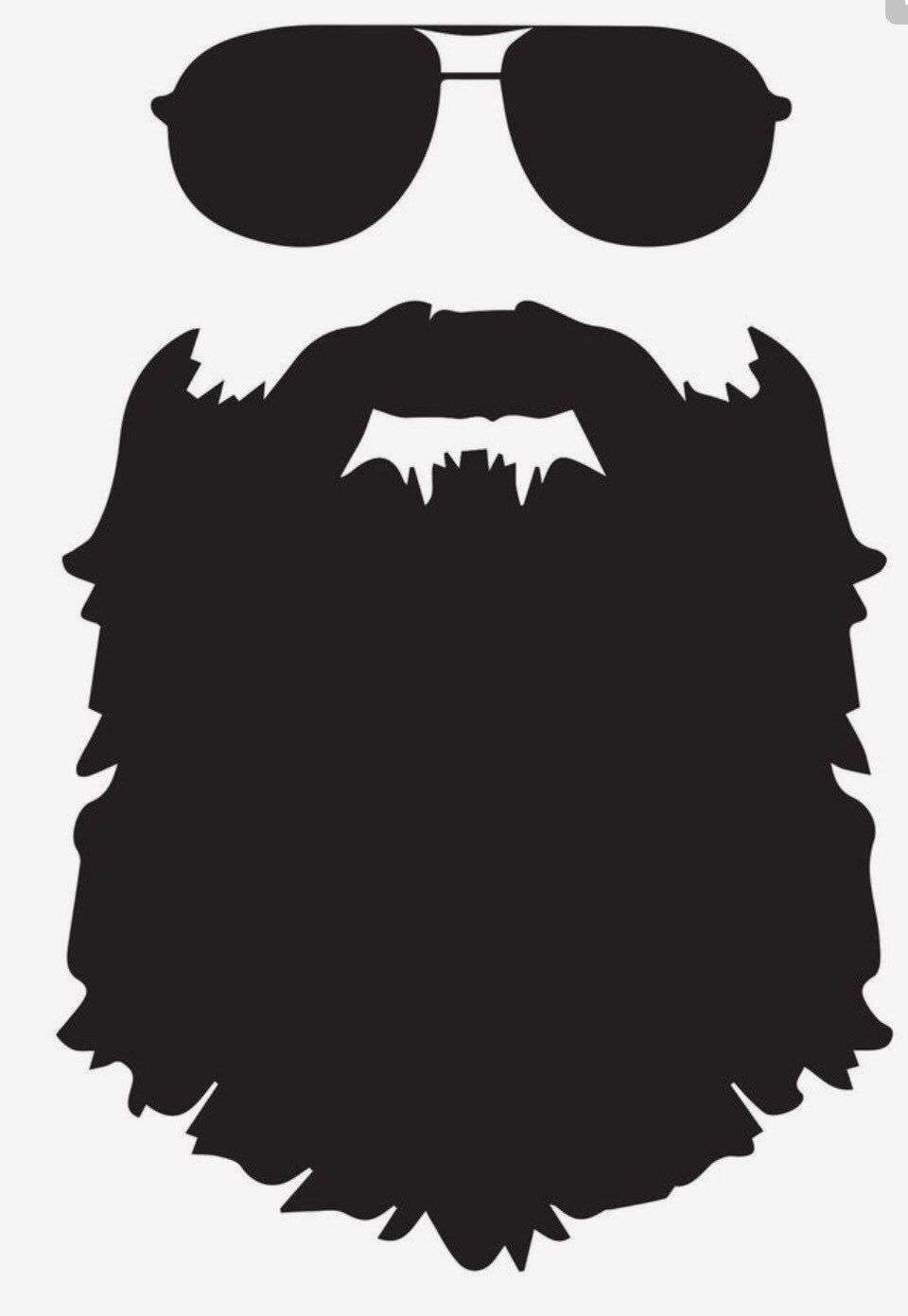 Add this bearded life decal to anything